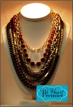 All Decked Out and Work It necklaces combo #pdstyle