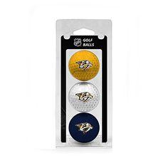 NHL Nashville Predators 3Ball TriColor Golf Ball Set * Read more  at the image link.