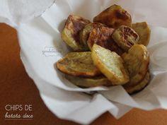Chips de Batata Doce | Gordelícias