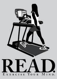 Dicono al Lettore Forte che è troppo sedentrio, ma prova tu a correre leggendo.