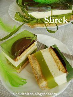 Słodkie niebo: Ciasto Shrek