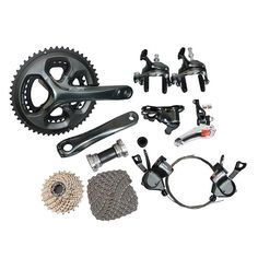 shimano Tiagra 4700 Road Full Groupset Group 2x10-speed 170mm //Price: $615.95 & FREE Shipping //     #hashtag2 Gears, Amp, Free Shipping, Group, Gear Train