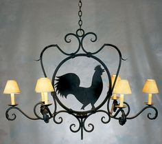 great fixture for a country kitchen