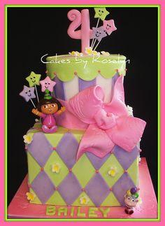 Love This Cake!!!  Nobody Likes Fondont :(