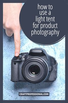 How to use a light tent for product photography. Tutorial shows beginner photographers how to take great product photos using this simple and affordable lighting setup. #productphotography #handmadebusiness #craftprofessional Selling Crafts Online, Craft Online, Photography Tutorials, Photography Tips, Lighting Setups, Craft Business, Product Photography, Blog Tips, Diy Crafts To Sell