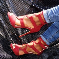 High Heel Pumps, Pumps Heels, Stiletto Heels, Spring Shoes, Summer Shoes, Caged Heels, Prom Shoes, Sexy Feet, Womens High Heels