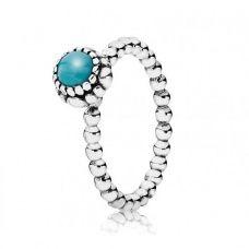 Pandora   December Birthstone Ring 190854TQ
