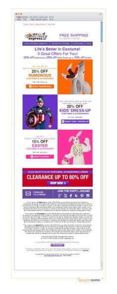 Brand: CostumeExpress.com   Subject: 3 Deals - 2 Days - 1 Happy Shopper!