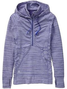Heavenly Hail Hoodie 2 - The pullover hoodie with a deep front zip and back venting for ventilation out on the trails.