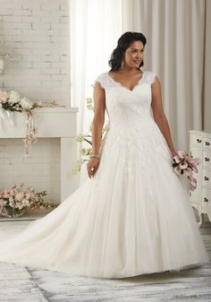 Robe de mariée grande taille Mariage Soleil - Marie Claire