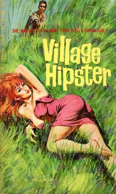 hipster pulp vintage pulp fiction