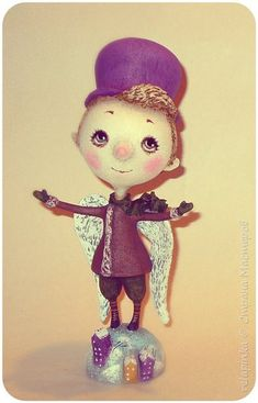 Куклы Рождество Папье-маше Ангел Бумага фото 1