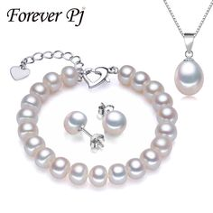 Cheap bracelet t bar display, Buy Quality bracelet package directly from China set java Suppliers:                           Real Natural Pearl Bracelet Pendant Earrings Three Jewelry Sets for Women Pearl