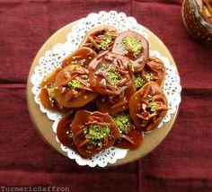 Turmeric and Saffron: Sohan Asali - Persian Honey and Saffron Almond Candy