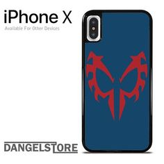 Spiderman 2099 Face For iPhone X