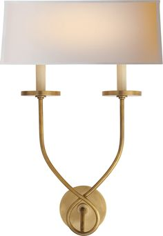 SYMMETRIC TWIST SCONCE | Circa Lighting - option for the sconces flanking the front door