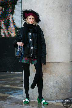 Veronika Vilim by STYLEDUMONDE Street Style Fashion Photography
