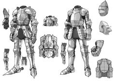 View an image titled 'Armor Designs Art' in our Pandora Saga art gallery featuring official character designs, concept art, and promo pictures. Character Design Cartoon, Character Design Tutorial, Fantasy Character Design, Character Design References, Character Design Inspiration, Character Art, Character Concept, Armadura Medieval, Armor Concept