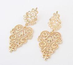 1-Pair-New-Elegant-Women-Vintage-Style-Fashion-Rhinestone-Dangle-Stud-Earrings