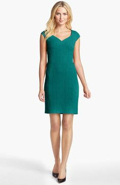 Marc New York by Andrew Marc Crepe Sheath Dress available at #Nordstrom