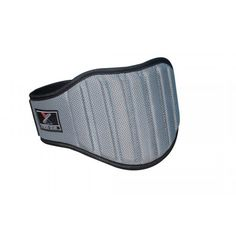 """""""Weight Lifting Belt Gym Back Support Fitness 8"""""""" Wide Neoprene With Mesh Grey (XL)"""" #weightliftingmotivation"""