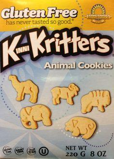 Galletas de animales Kinni Kritters: Una deliciosa merienda para tu hijo intolerante al gluten