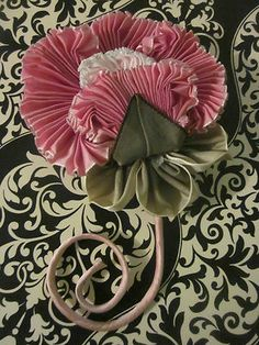 Ribbon Flower Pin