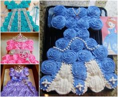 Princess Cupcake Cakes