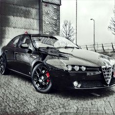 Classic Car News – Classic Car News Pics And Videos From Around The World Alfa Romeo Brera, Alfa Romeo 159, Alfa Cars, Alfa Romeo Cars, Alfa 159, Fiat Abarth, Top Cars, Custom Cars, Cars And Motorcycles