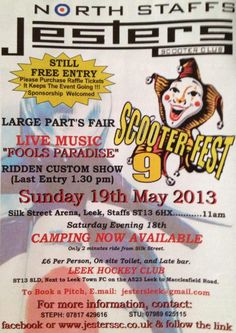 Scooter-Fest 9, 19th May 2013