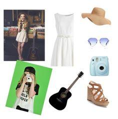 """Sabrina Carpenter style"" by barbie1719 ❤ liked on Polyvore featuring Yamaha, Fuji, Jennifer Lopez, Old Navy, Boohoo and Chicwish"