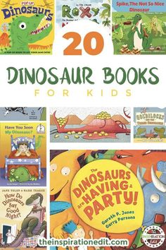20 Terrific Dinosaur Books You Will Love · The Inspiration Edit 20 Terrific Dinosaur Books You Will Love · The Inspiration Edit Dinosaur Books For Kids, Dinosaur Activities, Dinosaur Crafts, The Good Dinosaur, Fun Activities To Do, Toddler Books, Dinosaurs Preschool, Dinosaur Dinosaur, Nursery Activities