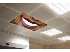 What do you think of this light cover over the dental chair? Cool or Creepy?  #Dentist #Dental