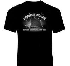 MICHIGAN PALACE Detroit Venue T-Shirt double-sided