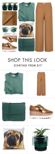"""""""Weekend Brunch"""" by jiabao-krohn ❤ liked on Polyvore featuring Blair, Uniqlo, Marni, STELLA McCARTNEY, Topshop, Nude, weekend, platforms, brunch and weekendstyle"""