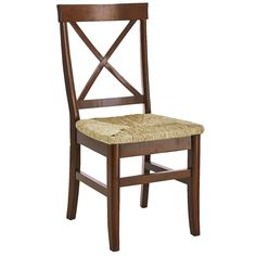 Torrance Rush Side Chair - Mahogany Brown | Pier 1 Imports