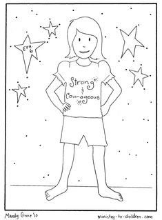 Printable Armor Of God Coloring Page Sketch Coloring Page