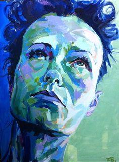 Submissions for Painted Faces Showdown | Saatchi Online analogous color scheme