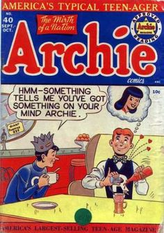 Archie 40 - The Mirth Of A Nation - Jughead - Hearts - Ketchup Bottle - Americas Typical Teenager