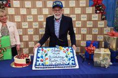 Pastor Jim with his birthday cake!