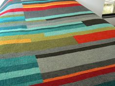 Mid-Century Modern Quilt Made to order by quiltsbydesign on Etsy