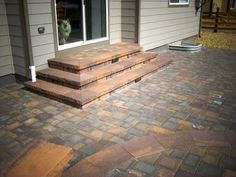 paver patio steps designs patio steps awesome landscape design and installation contractor greater paver patio steps ideas Patio Steps, Outdoor Patio Pavers, Outdoor Steps, Cement Patio, Brick Pavers, Backyard Patio, Backyard Ideas, Garden Steps, Garden Gazebo