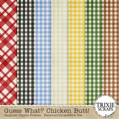 Guess What? Check out this fun kit from Trixie Scraps and Connie Prince!- Digital Scrapbooking Blog