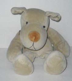 """Russ Berrie Dog Plush Homer Beanbag Floppy Puppy 11""""  #Russ"""