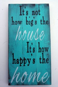 Pallet Sign Distressed Wood Rustic Shabby Chic Cottage Chic Vintage Turquoise Housewarming Gift Handpainted Sign Wall Decor Wallhanging