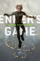 Ender's Game  http://whatthebook.com/book/9780812550702?