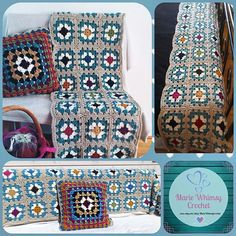 Marie Whimsy Crochet (@mariewhimsycrochet) • Instagram-bilder og -videoer Chanel Boy Bag, Cushion Covers, Cushions, Shoulder Bag, Blanket, Crochet, Bags, Shopping, Instagram