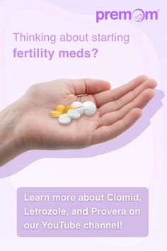 With so many fertility medications out there, it can be hard to choose! Clomid. Letrozole. Provera. Where do you even begin?? Fortunately, Premom has compiled a list of commonly asked questions about the most frequently prescribed fertility meds and put them all into one video! For more educational content to help guide you on your TTC journey, download our free app and subscribe to our YouTube channel so you never miss another video!