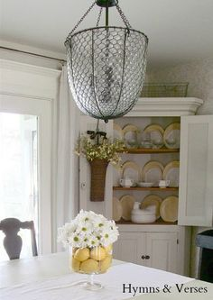 Easy Lemon And Daisy Centerpiece Kitchen Dining RoomsDining