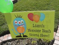 Michelle's Party Plan-It: Monster Bash for a Special Lil' Monster